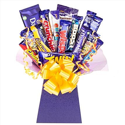 Cadbury Chocolate Bouquet:Chocolate Delivery in London UK