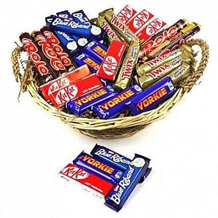 Chocolate Bite Size Hamper:Send Chocolate to UK