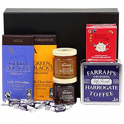 Chocolate Blend Hamper:New Year Gifts to UK