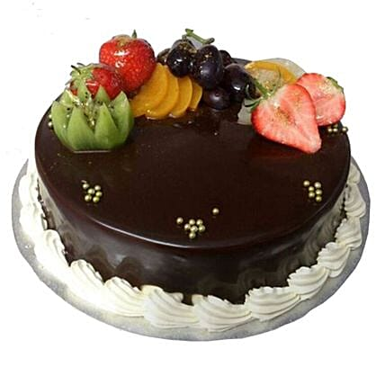 Chocolate Truffle Cake:Order  Cakes to UK