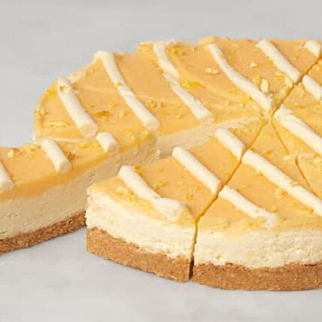 Christmas Sicilian Lemon And Mascarpone Cheesecake