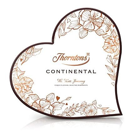 Continental Heart Chocolates Box