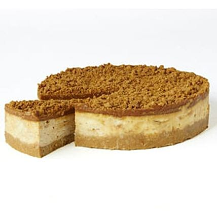 Crunchy Lotus Biscoff Cheesecake