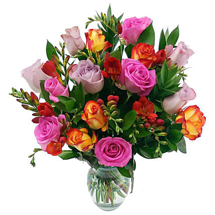 Daydream Delight Bunch Of Roses:Send Roses to UK