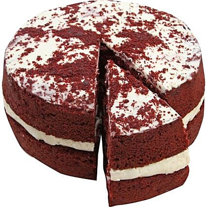 Delicious Red Velvet Cake:Birthday Cakes to UK