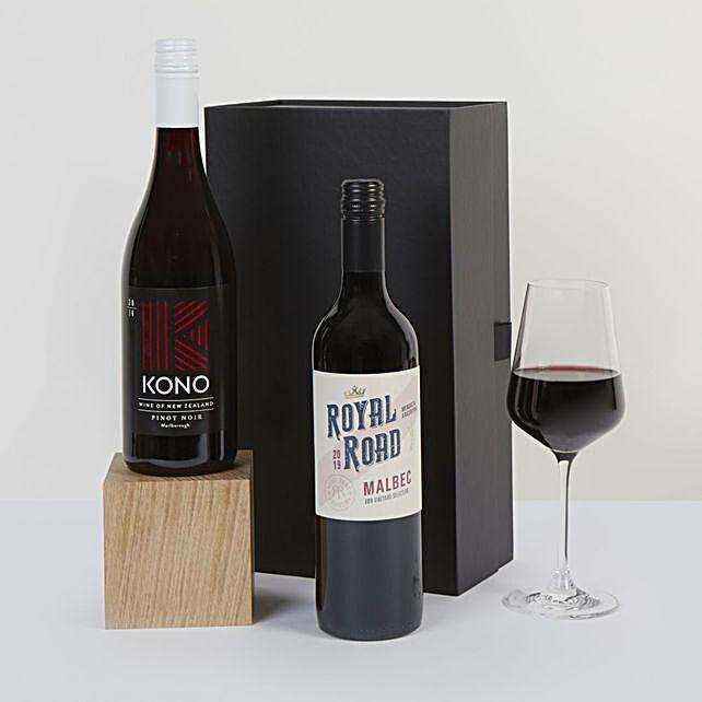 Duo Red Wine Box