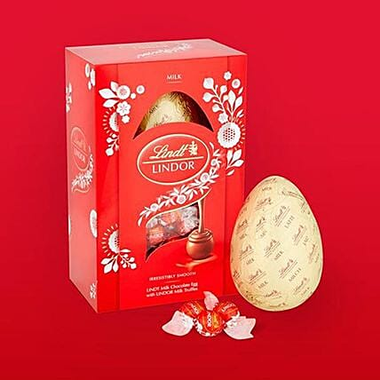 Easter Lindt Chocolate Egg And Lindor Truffles Combo:Easter Gifts to UK