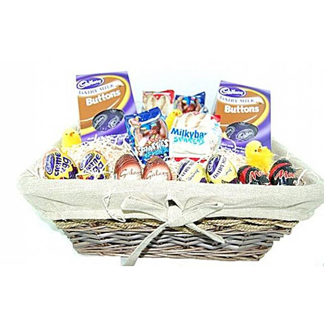 Easter Special Chocolate Easter Eggs Basket Hamper
