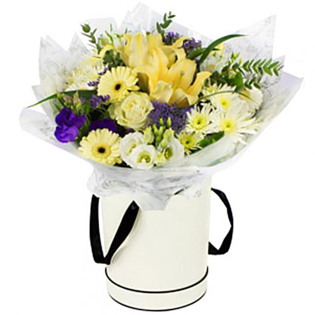 Eliza:Send mixed Flowers to UK