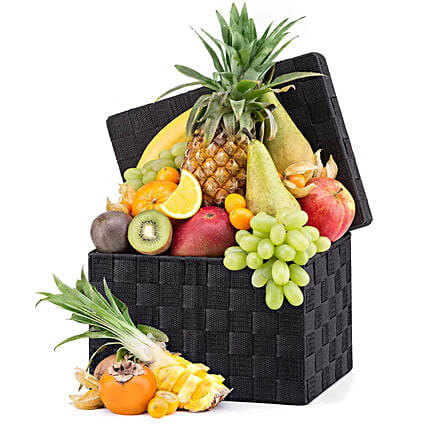 Exotic Fruit Hamper:Send New Year Gifts to UK