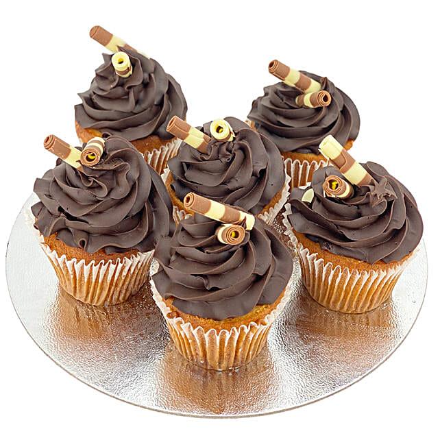 Feasty Dark Chocolate Cupcakes
