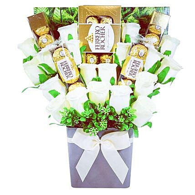 Ferrero Rocher Chocolate Truffle Bouquet