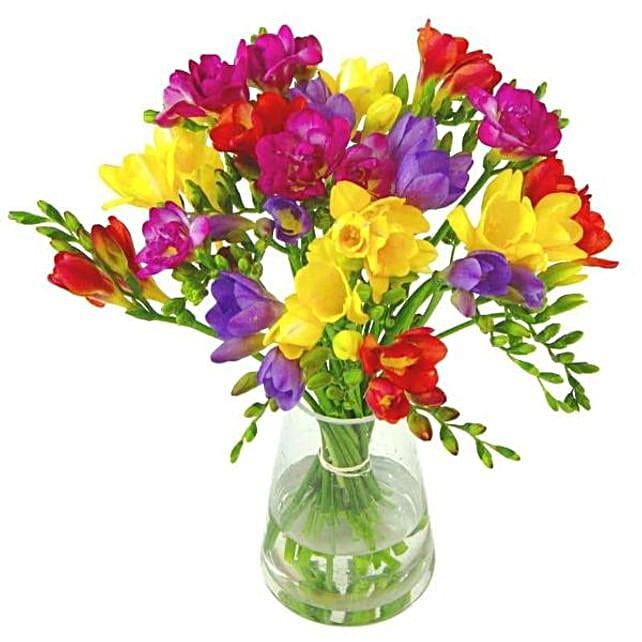 Freesias Flower Bouquet