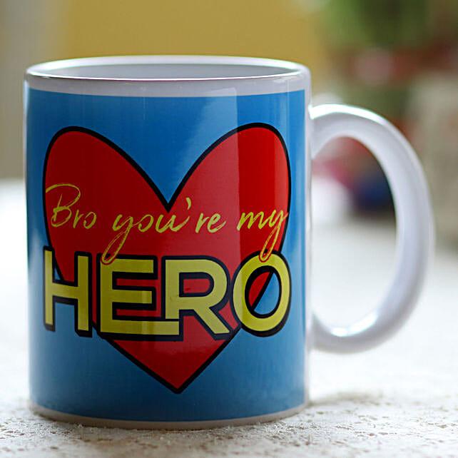 Online Pesonalised Hero Mug