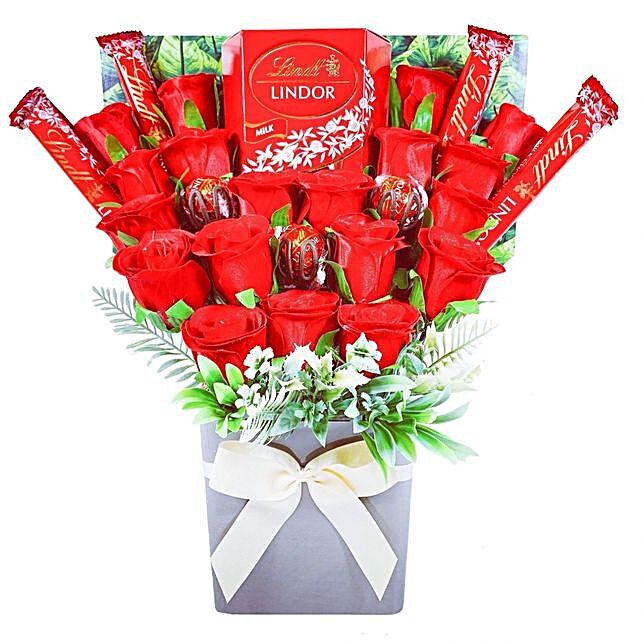 Lindt Lindor Chocolate Bouquet