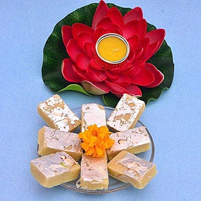 Lotus Tealight N Barfi