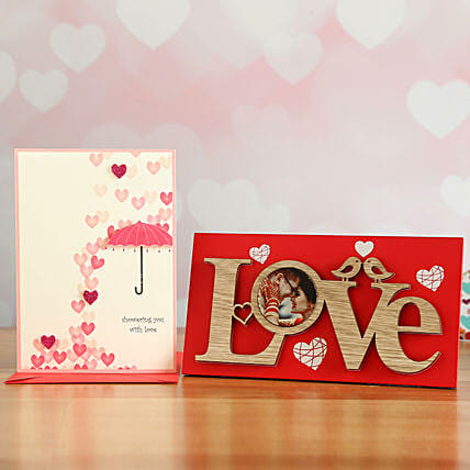 Love Frame Gift Set