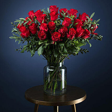 Luxury Premium Two Dozen Roses Arrangement