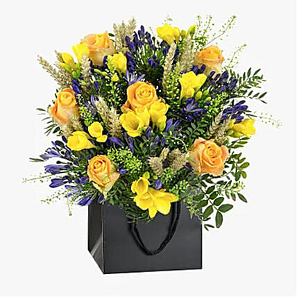 Miraculous Yellow Roses Bouquet