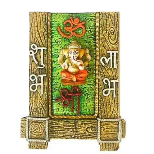 Om Shree Ganesha Wall Decor:Send Bhai Dooj Gifts to UK