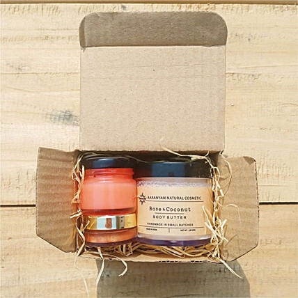 Pamper Yourself Skin Care Hamper:Cosmetics and Spa Hampers to UK