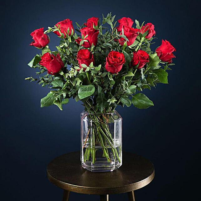Perfect Love Roses Arrangement:Send Roses to UK