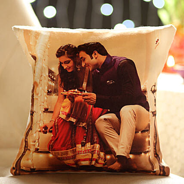 Customised Cushion for Couple