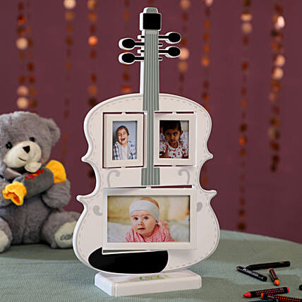 Personalised Guitar Photo Frame