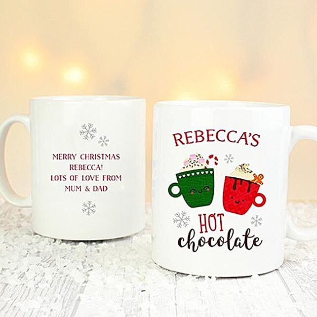 Personalised Hot Chocolate Mug