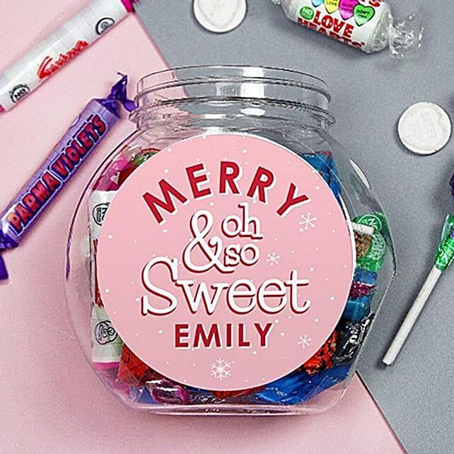 Personalised Oh So Sweet Jar