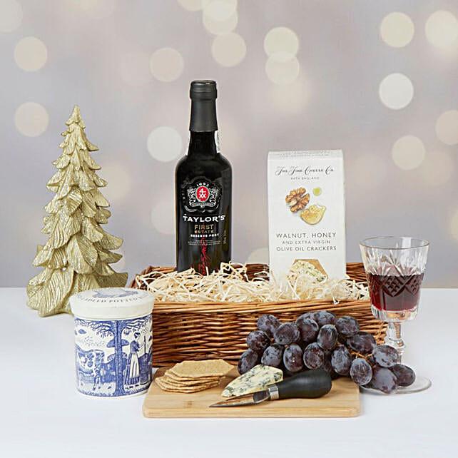 Port And Stilton Christmas Hamper