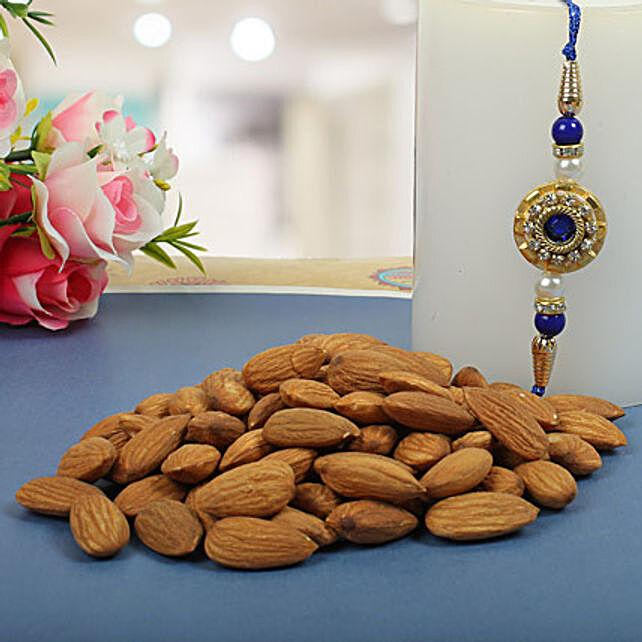 Royal Rajwadi Blue diamond with almond