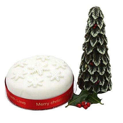Snow Flake Christmas Cake:Best Selling Cakes in UK