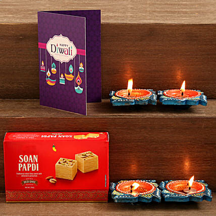 Soan Papdi Diwali Combo:Send Sweets to UK