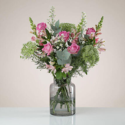 Soothing Pink Floral Bouquet