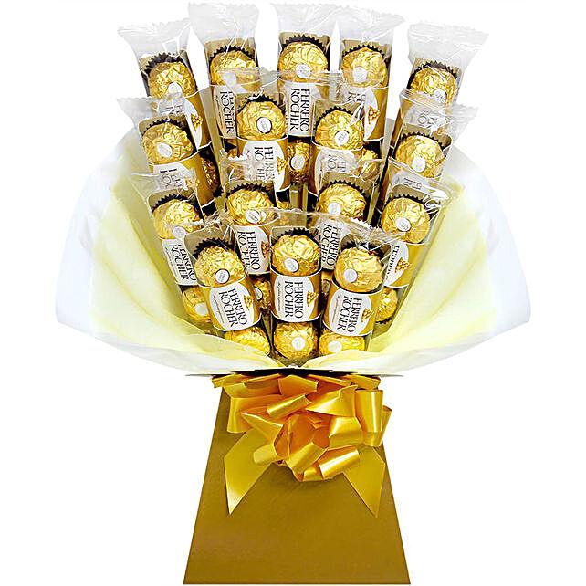 Sweets Ferrero Rocher Chocolate Bouquet