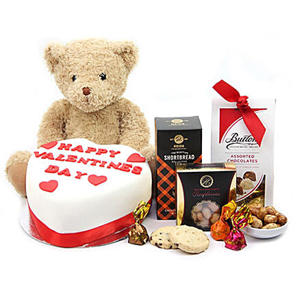Teddy Special Treat Hamper:Gift Combos to UK
