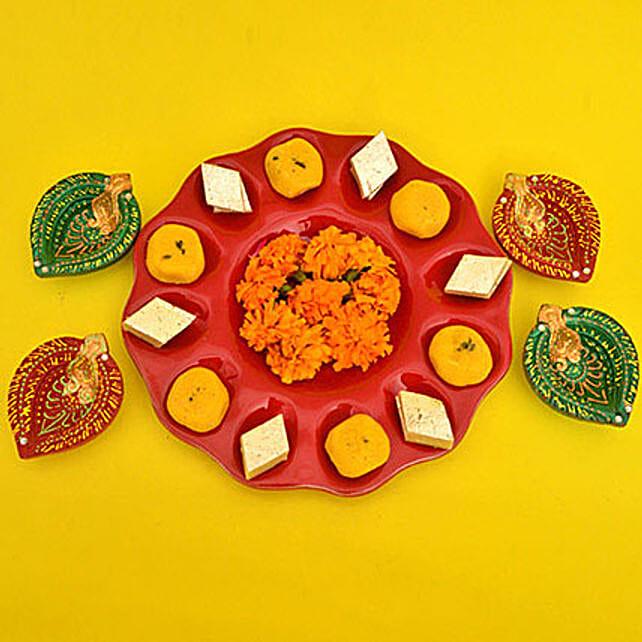 Traditional Diwali Happiness