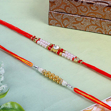Traditional rakhi threads