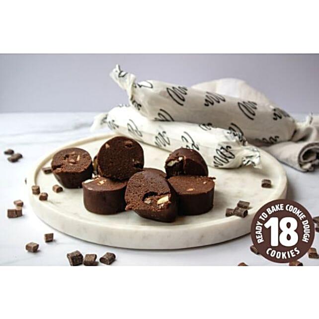 Triple Chocolate Cookie Dough Rolls