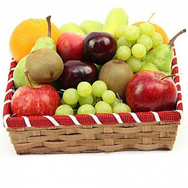 Citrus Punch Fruit Basket:Gifts for Him in UK