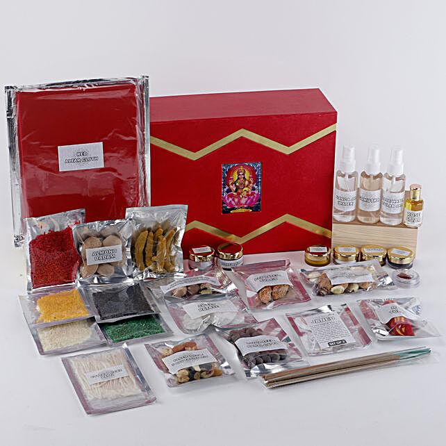 Margashirsha Lakshmi Puja Box:Send Pooja Samagri Boxes to UK