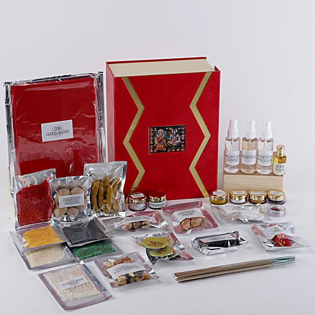 Complete Pooja Box:Send Pooja Samagri Boxes to UK