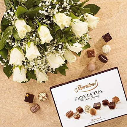 White Love Affair Combo:New Arrival Gifts UK