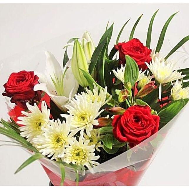 Elegant Mixed Flower Bouquet