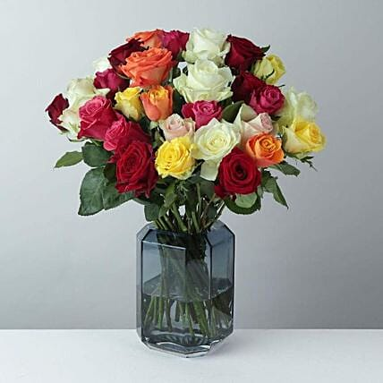 Mixed Roses Delight Bunch