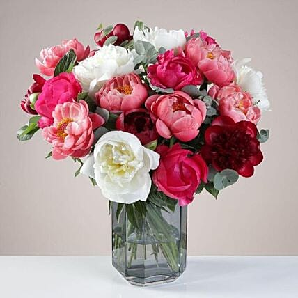 The Luxurious Peony Bunch