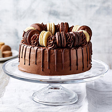 Triple Chocolate Delight Gateau