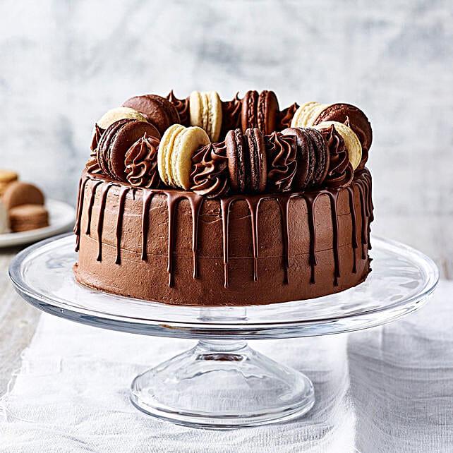 Triple Chocolate Delight Gateau
