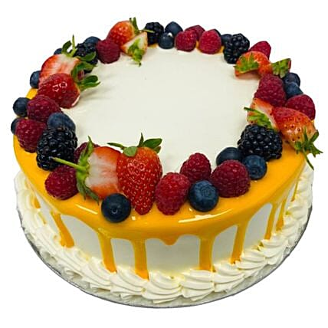 Fruit Punch Cake